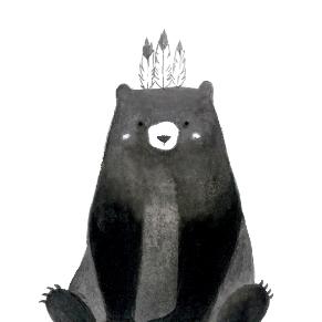 Single Black Bear Yanice